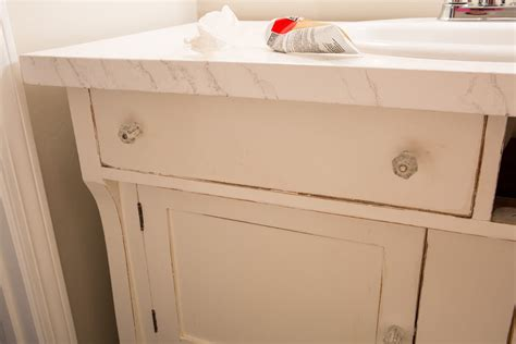 how to attach sink to vanity how to repurpose a sideboard into a sink vanity in my