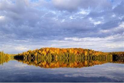 Minnesota Lake Superior Forest Autumn National Stunning
