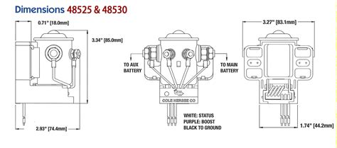 Cole Hersee Battery Isolator Wiring Diagram Free