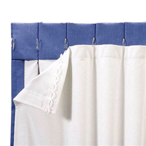 Blackout Curtain Liners Walmart roc lon blackout energy efficient curtain panel liner white