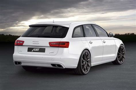 Audi Wagon by 2012 Audi A6 Avant Wagon Gets More Power Along With