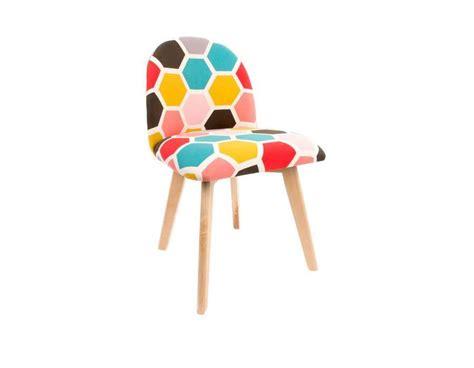 chaise colorée chaise vintage colorée pas chere