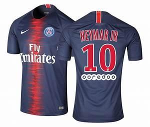 Maillot PSG Domicile Neymar 201819 Footcenter