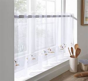 Sheer voile cafe panel kitchen bathroom ready made tier for Voile bathroom curtains