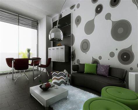 dekorasi dinding contoh hiasan dinding ruang tamu minimalis dinerbacklot