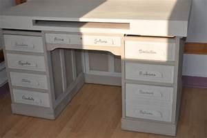 comment peindre un bureau deco bureau blanc lepolyglotte With repeindre un bureau en bois