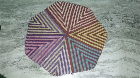 how to make a doormat from waste cloth how to make doormat from saree and waste cloth
