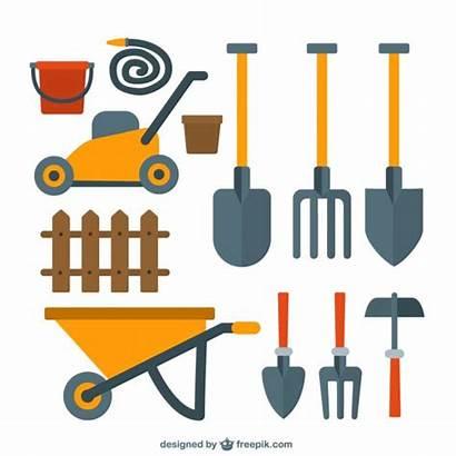 Garden Tools Shovel Clipart Nice Vectors Gardening