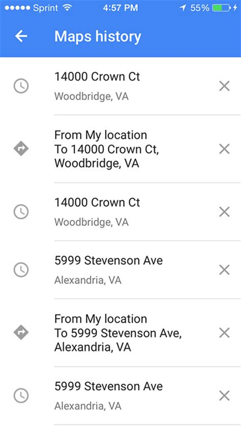 location history on iphone how to view apple maps location history on your iphone