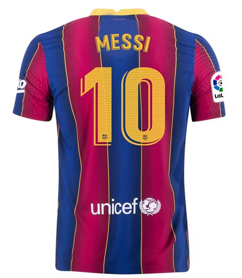 FC Barcelona 20/21 Authentic Home Jersey by Nike | Buy ...