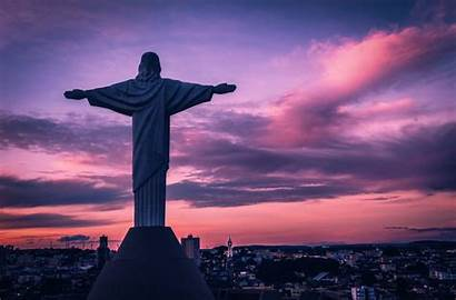 Rio Brazil Christ Jesus Statue Janeiro Redeemer