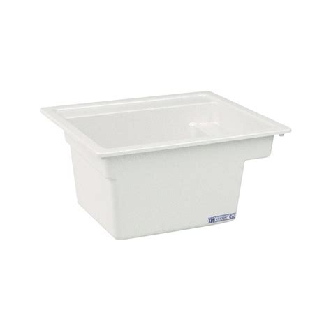 mustee 25 vector multi task sink 22 inch x 25 inch white