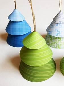 Objet Bambou Faire Soi Meme : petits sapins en papier ~ Melissatoandfro.com Idées de Décoration