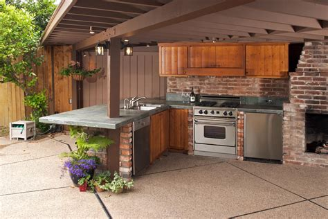 outdoor kitchen backsplash cool outdoor kitchen design in terrace as well backsplash and ceramic tile the top also