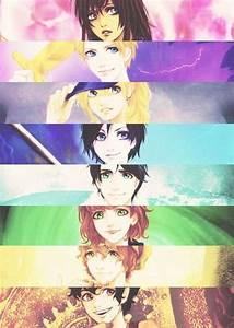 Piper, Jason, Annabeth, Thalia, Percy, Rachel, Grover, and ...