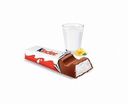 Kinder Chocolate Bar Bars Milk Different Portions