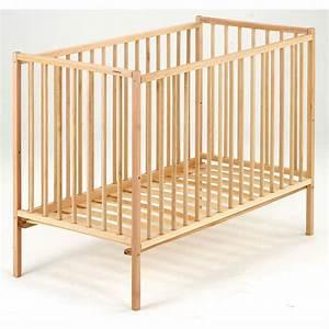 Lit Bebe Bois : lit bebe barreaux bois visuel 3 ~ Teatrodelosmanantiales.com Idées de Décoration