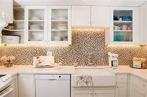 les elements necessaires pour une cuisine shabby chic With kitchen colors with white cabinets with faire des fleurs en papiers