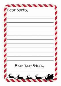 Free printable letter to santa writing paper for Santa letter writing paper