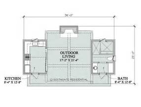 pool house plans with bedroom southgate residential poolhouse plans