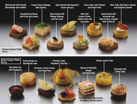 canapes canapes ideas and on