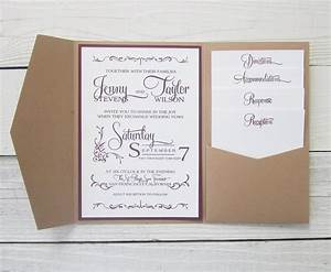 how to make pocket invitations a simple guide With how to make wedding invitations with pockets