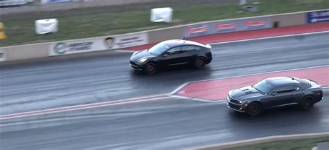 Tesla Model 3 Performance Takes On Tesla Model X P100dl