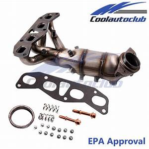 Front Manifold Catalytic Converter For 02