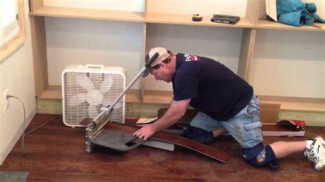 how to cut vinyl plank flooring how to install adura vinyl plank floors youtube