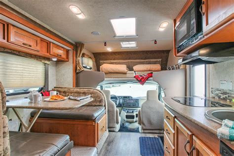 motor home interiors rentals c large motorhome fraserway rv