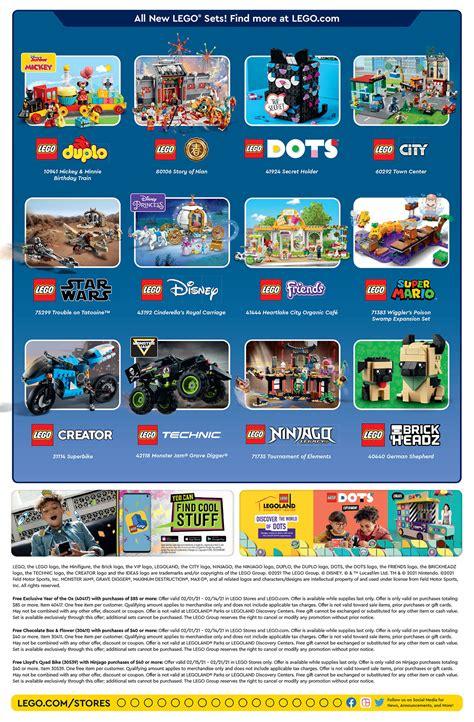 Brickfinder - LEGO Brand Store Calendar February 2021 ...