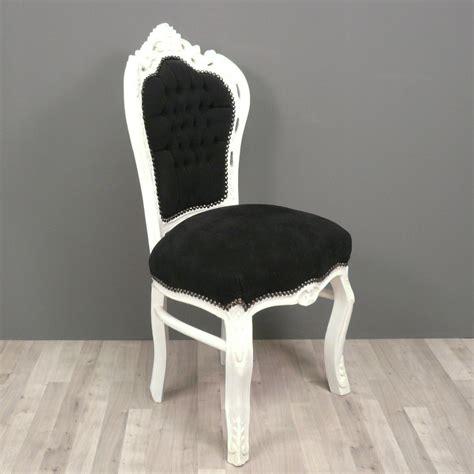 chaise baroque blanche chaise baroque et blanche fauteuils baroques