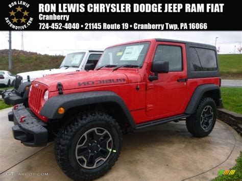 red jeep 2017 2017 firecracker red jeep wrangler rubicon 4x4 116783507