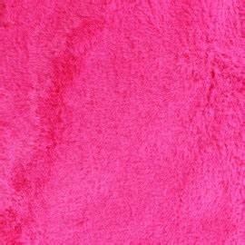 Ourson Fur fabric neon pink