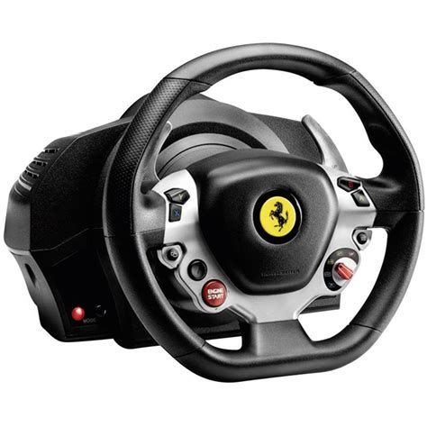 thrustmaster volante volante thrustmaster tx racing wheel 174 458 italia