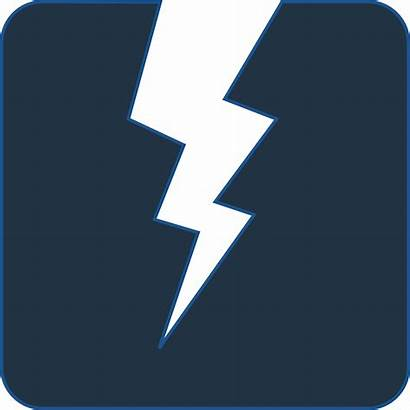 Power Icon Clipart Electrical Electricity Clip Lightning