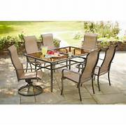 Hampton Bay Patio Furniture Home Depot by Hampton Bay Charlemont 7 Piece Patio Dining Set XAS 1750 The Home Depot