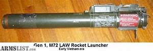 ARMSLIST - For Sale/Trade: M72 LAW (Gen 1) Rocket Launcher