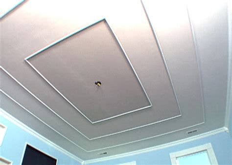 How To Create A Faux Tiered Ceiling Hgtv