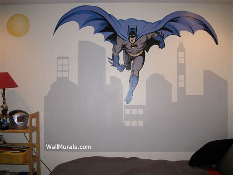 batman wall mural wall murals  colettewall murals