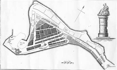 Map Port Royal Pirate Jamaica Sunken Earthquake