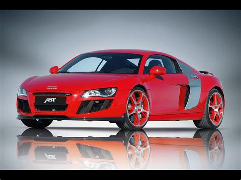Red Audi R8 Wallpaper