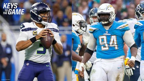 keys   game chargers  seahawks