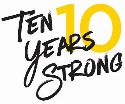 Years Strong Going Blogalicious Celebrate Achieve 10years