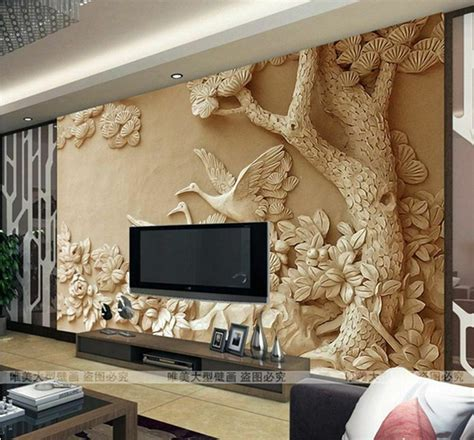 wallpaper bedroom mural roll modern luxury embossed
