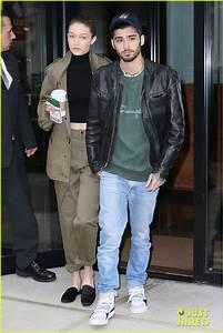 Gigi Hadid & Zayn Malik Step Out After Birthday Festivities