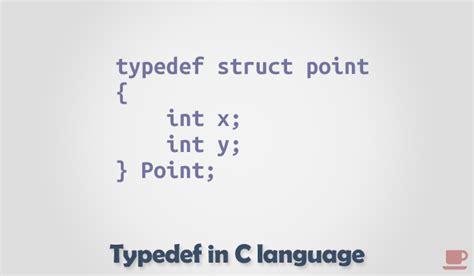 typedef      language codeforwin