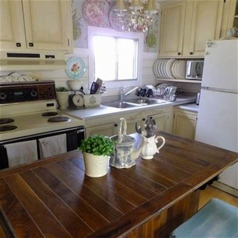 mobile home kitchen makeover mobile home remodeling 9 totally amazing before and 7553