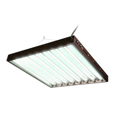 t5 ho fluorescent light fixture 8 l horticulture