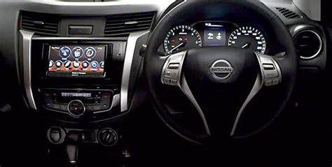 nissan navara interior teased  latest video auto news